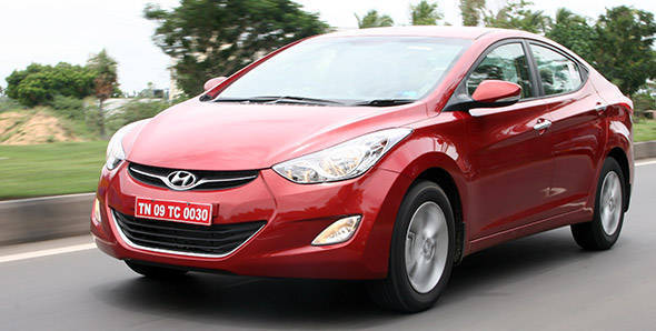 Exclusive! 2012 Hyundai Elantra in India road test