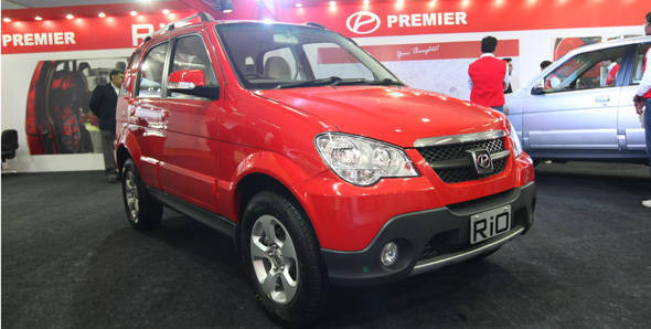 Launched – 2012 Premier Rio CRDi4 in India