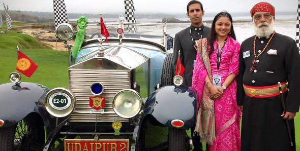 Shriji's 1924 Rolls-Royce wins trophy at Pebble Beach