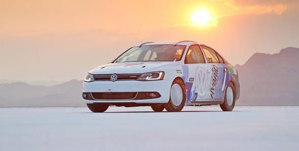 Volkswagen Jetta is the world's fastest hybrid car