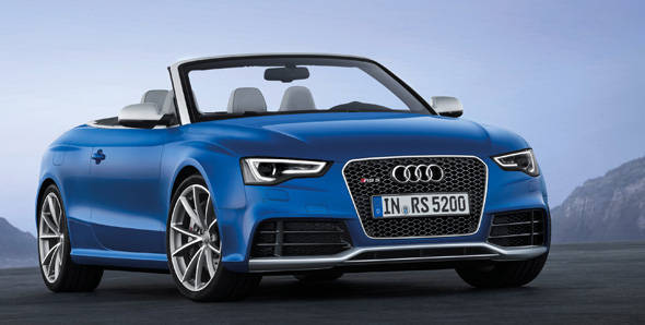 Unveiled – 2013 Audi RS5 Cabriolet