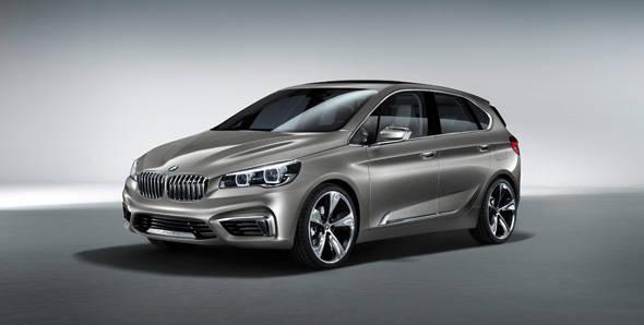 Unveiled – BMW Concept Active Tourer