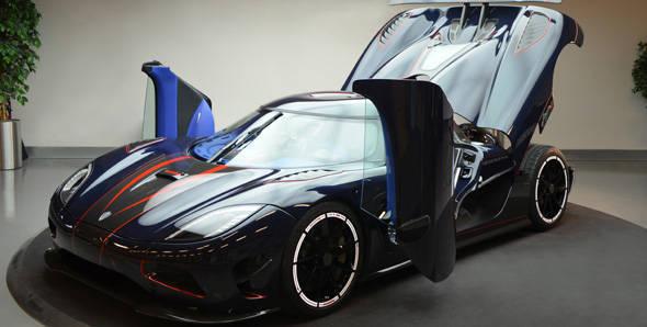Koenigsegg Agera R BLT showcased
