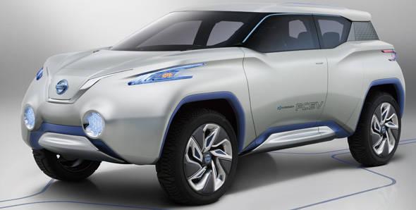Nissan to unveil TeRRA SUV concept at Paris Motor Show 2012