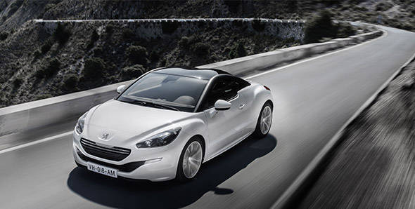 Unveiled – 2013 Peugeot RCZ