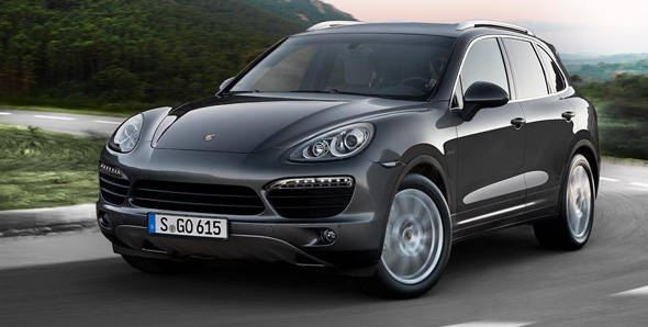 382PS Porsche Cayenne diesel to be launched in Jan 2013