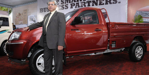 Launched – 2012 Tata Xenon pick-up in India