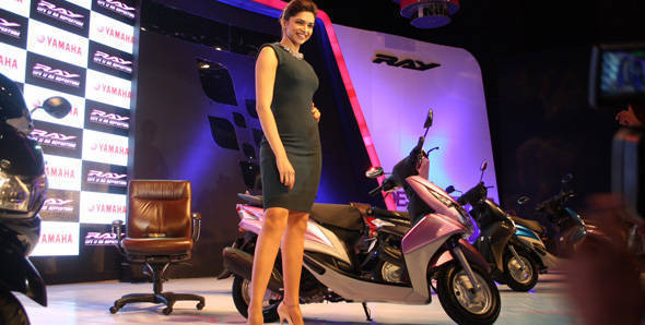 Launched - 2012 Yamaha Ray in India