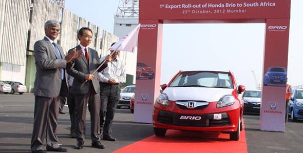 Honda Cars India to export cars to South Africa