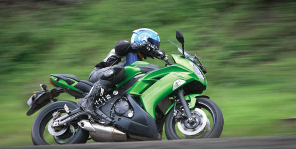 2012 Kawasaki Ninja 650 road test