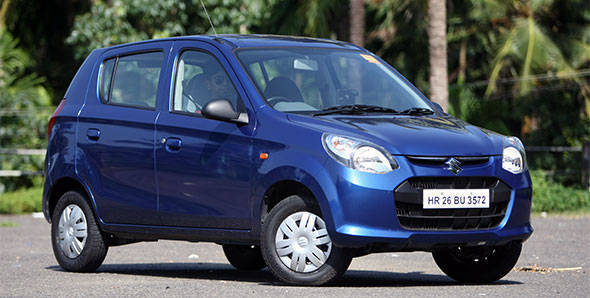 2012 Maruti Alto 800 in India first drive