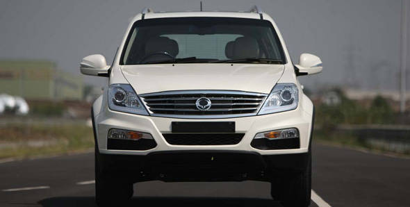 2012 SsangYong Rexton in India first drive