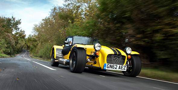 Caterham SuperSport R used as an example