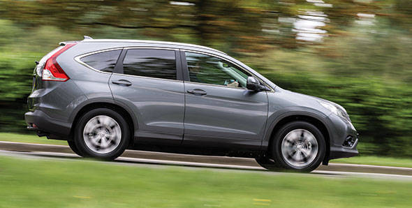 2013 Honda CR-V first drive