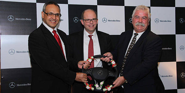 Eberhard Kern is the new CEO of Mercedes-Benz India