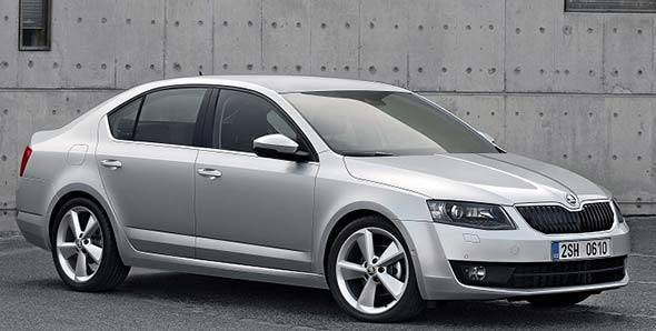 The 2013 Skoda Octavia launched in the European market earlier this year