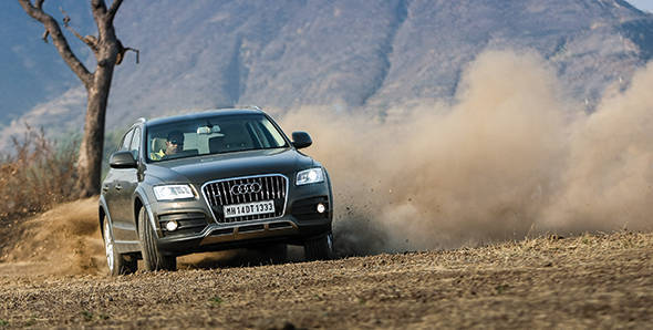 2013 Audi Q5 3.0TDi in India road test
