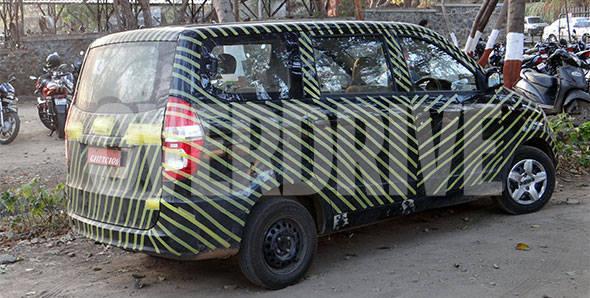 Spotted! Chevrolet Enjoy MPV