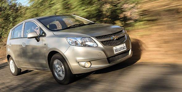 2013 Chevrolet Sail U-VA in India road test