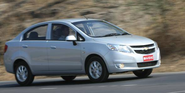 Exclusive! 2013 Chevrolet Sail sedan in India road test