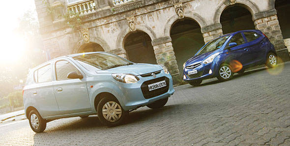 Comparo: 2012 Maruti Alto 800 vs Hyundai Eon