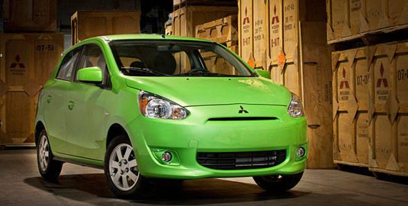 Mitsubishi debuts Mirage in Canada