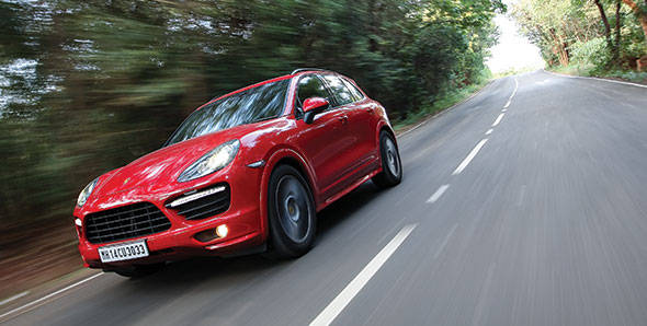 2013 Porsche Cayenne GTS in India road test