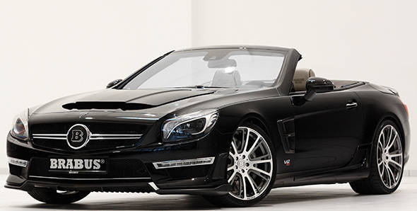 Brabus bringing 800PS SL65 AMG to Geneva