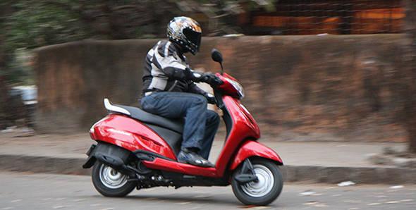 2013 Honda Activa HET in India road test