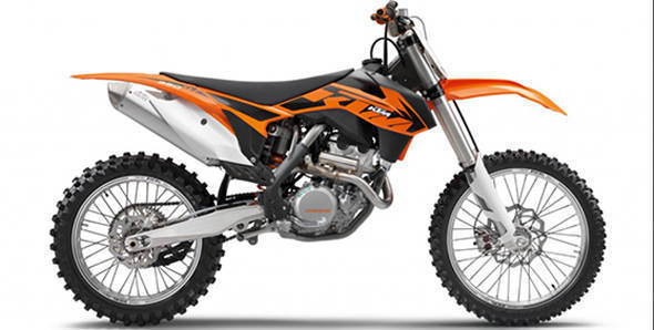KTM displays competition spec 350 SX-F in India