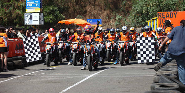 KTM organises second Orange Day in Mumbai