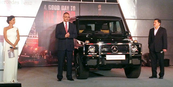 Launched - 2013 Mercedes-Benz G63 AMG in India at Rs 1.45 crore