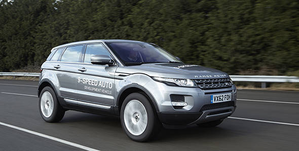 Range Rover Evoque with 9-speed auto coming to Geneva