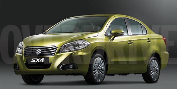 Next-gen SX4 sedan being readied for India