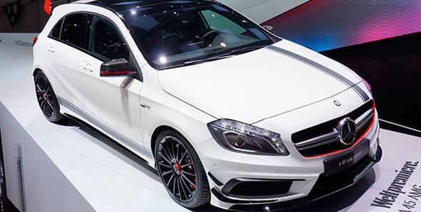 2013 Geneva Auto Show: Mercedes-Benz A45 AMG