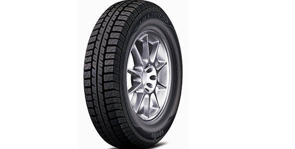 Mahindra e20 runs on Apollo Amazer 3G tyres