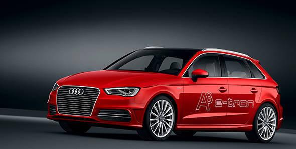 2013 Geneva Auto Show: Audi A3 e-tron