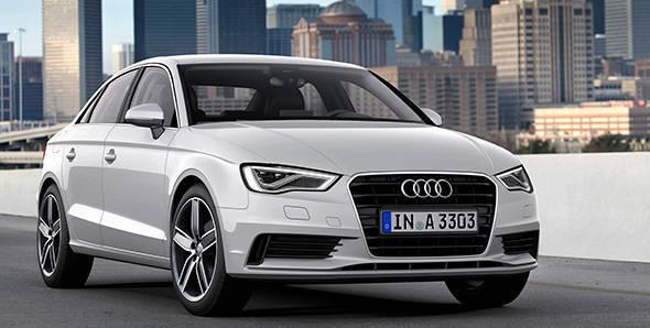 2013 New York Auto Show – Audi A3 sedan 2014