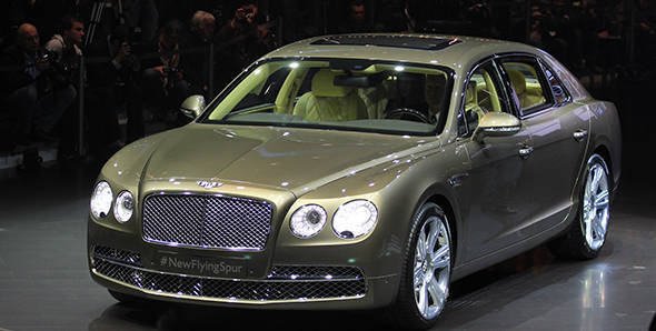 2013 Geneva Auto Show: Bentley Flying Spur