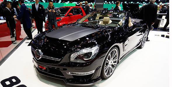 2013 Geneva Auto Show: Brabus 800 Roadster