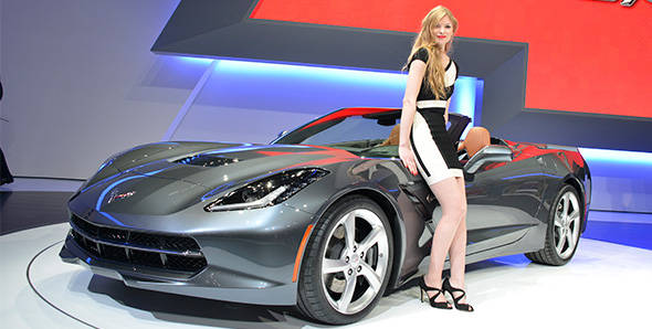 2013 Geneva Auto Show: Chevrolet Corvette Stingray Convertible