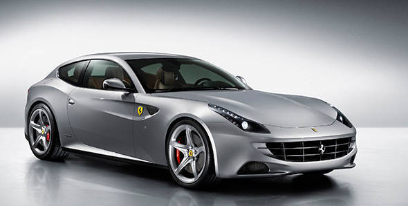 2013 Geneva Auto Show: Ferrari FF gets Siri integration