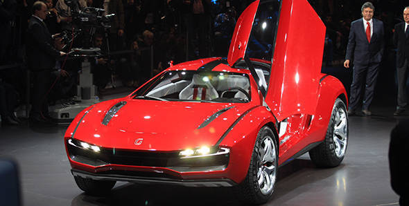 2013 Geneva Auto Show: ItalDesign Giugiaro Parcour