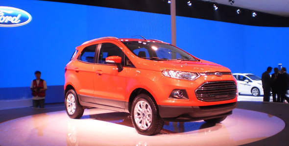India-spec Ford EcoSport shown