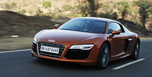 2013 Audi R8 V10 in India driven