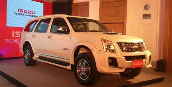 Launched: 2013 Isuzu MU-7 and D-Max in India at Rs 23.75 and Rs 6.87 lakhs