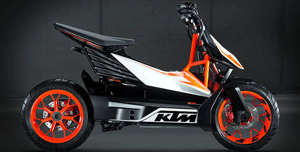 Unveiled – KTM E-SPEED electric concept