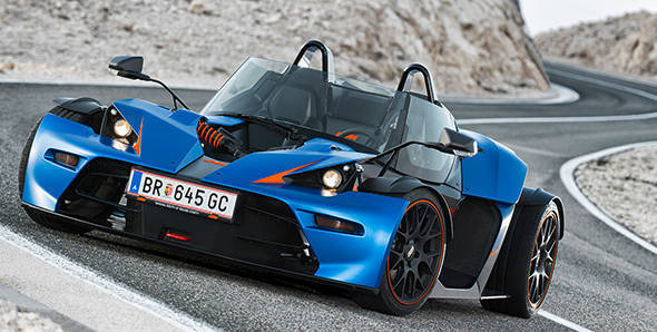 KTM X-Bow GT to be launched at Geneva Show