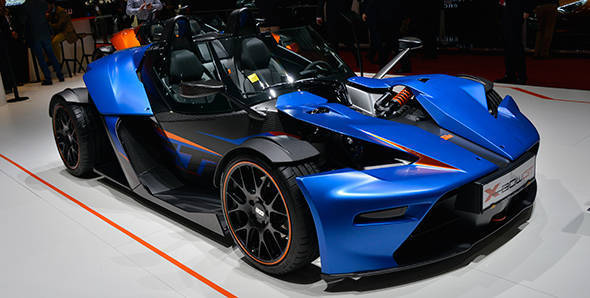 2013 Geneva Auto Show: KTM X-Bow GT