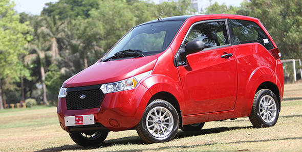 Launched: 2013 Mahindra e2o in India at Rs 5.96 lakh
